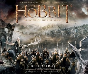 The Hobbit The Battle of the Five Armies Poster Wallpaper