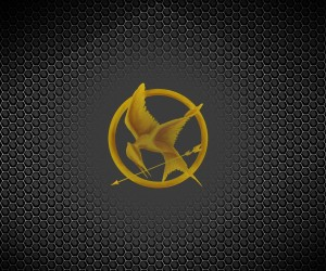 The Hunger Games Mockingjay - Part 1 Background Logo Wallpapers