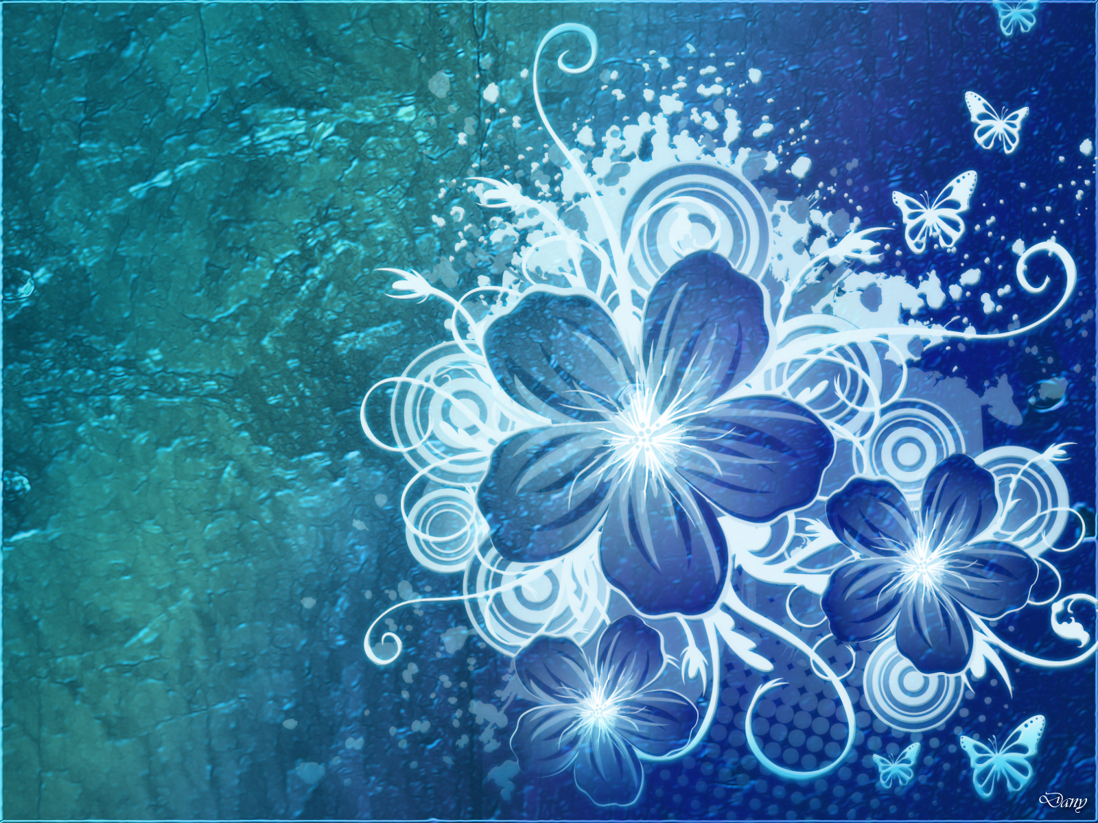 Blue Flowers Wallpapers | Movie HD Wallpapers