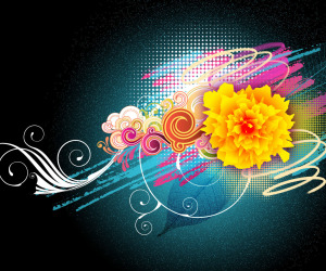 Floral Vector HD Wallpapers