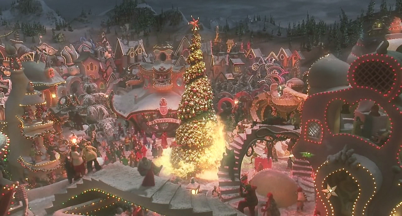 Fantastic How The Grinch Stole Christmas Movie Hd Wallpapers Easy Diy Christmas Decorations Tissureus
