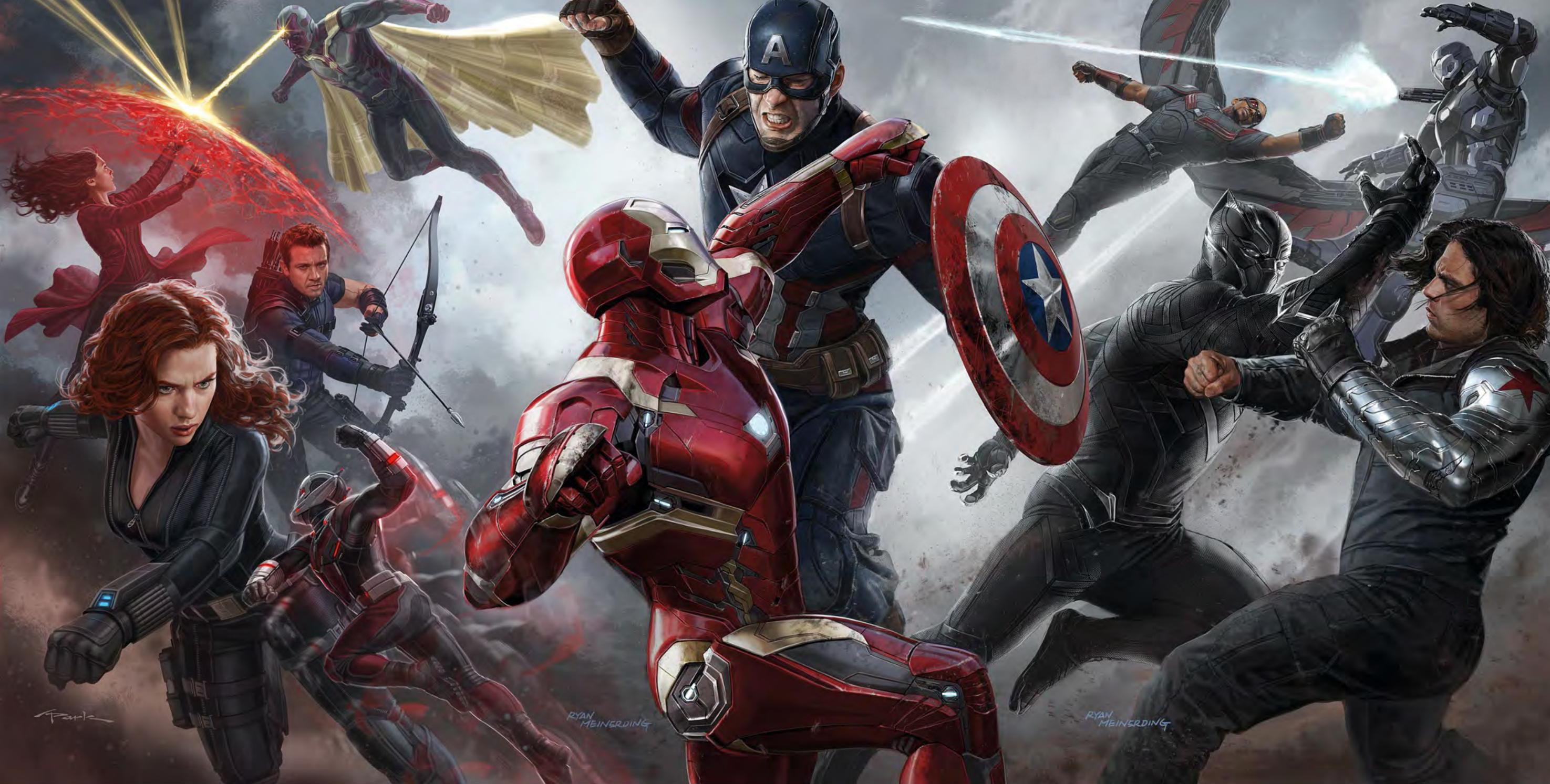 Captain America Civil War High-Quality Wallpapers