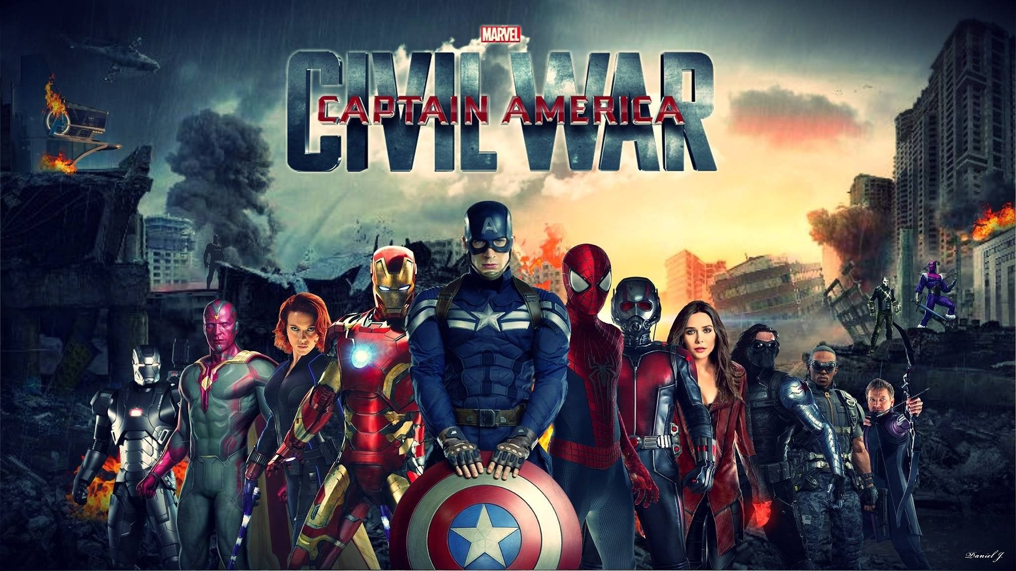 Captain America Civil War Images