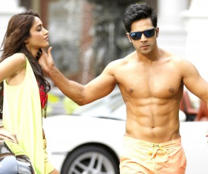 Main Tera Hero Varun Dhawan 6 Pack Abs 300x250 Main Tera Hero