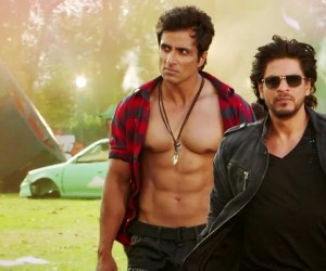 Happy New Year 2014 - Shahrukh Khan and Sonu Sood