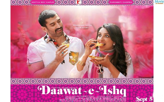 Daawat-E-Ishq Poster HD Wallpaper