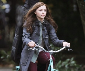 If I Stay Chloe Moretz in Cycle