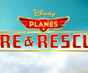 Planes Fire and Rescue Movie Logo Wallpapers