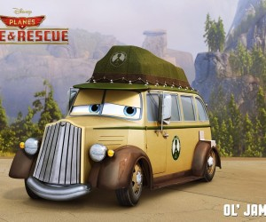Planes Fire and Rescue - Ol' Jammer