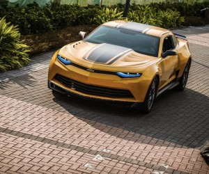 Transformers Age of Extinction - Bumblebee Car
