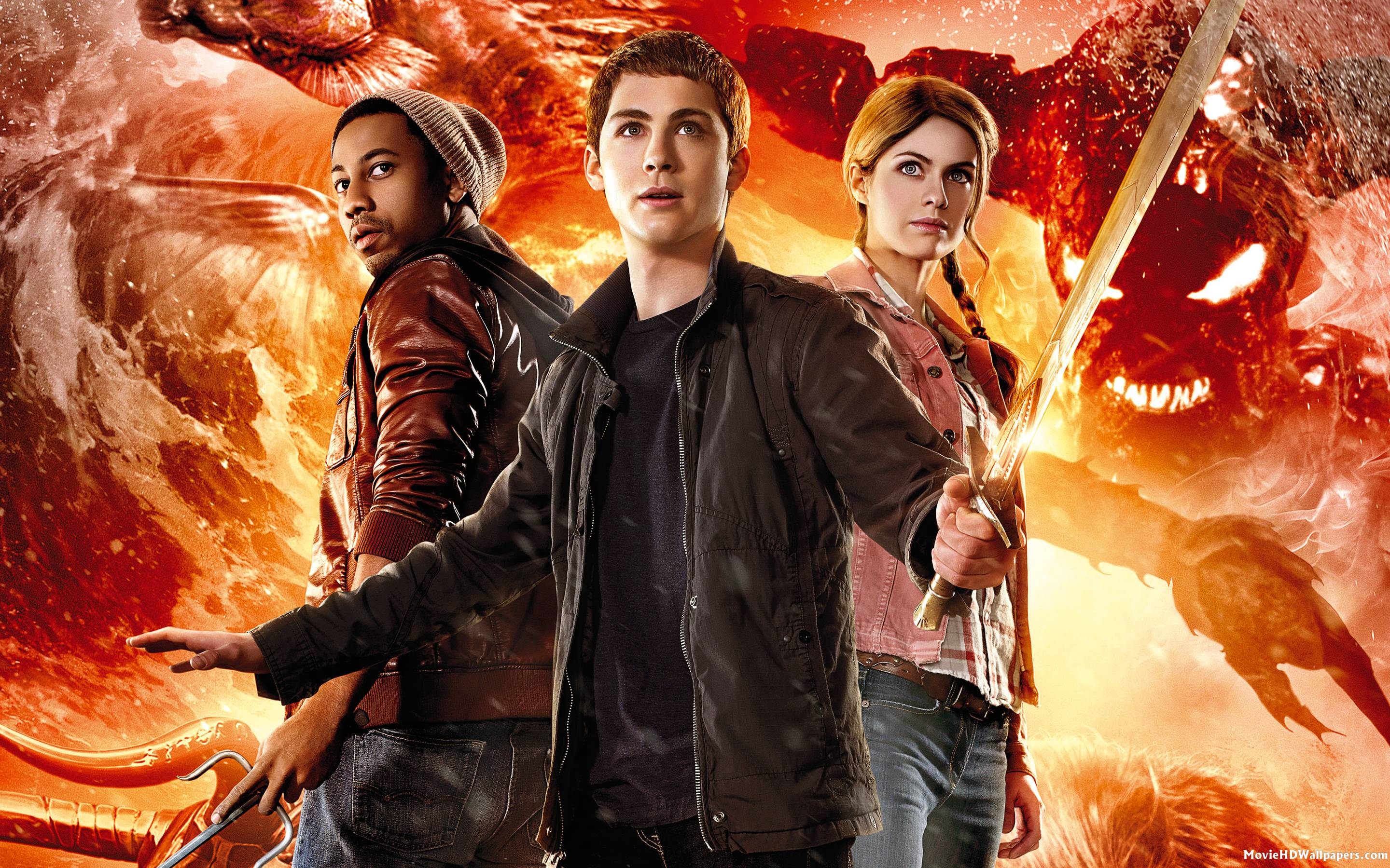 Percy jackson sea of monsters 2013 movie hd wallpapers voltagebd Image collections