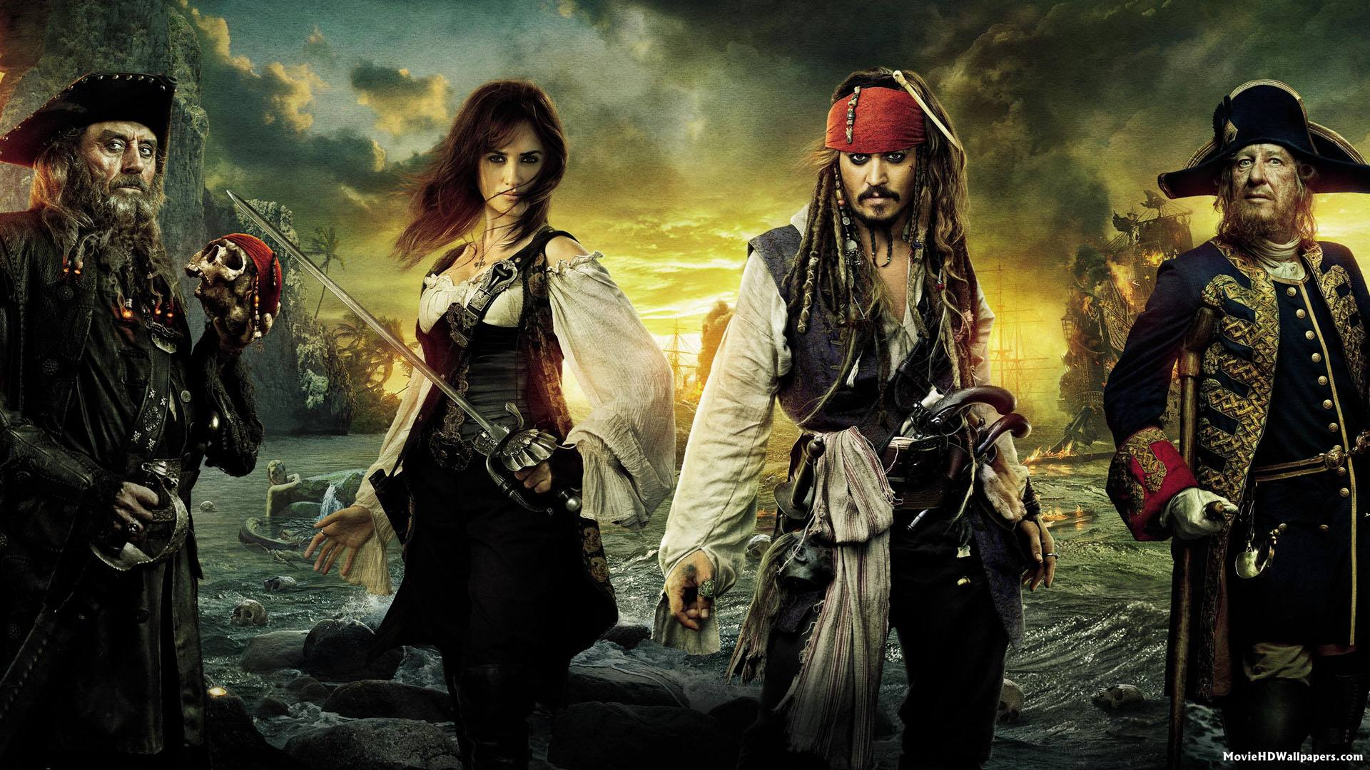 Pirates of the caribbean on stranger tides 2011 movie hd wallpapers - Pirates of the caribbean images hd ...