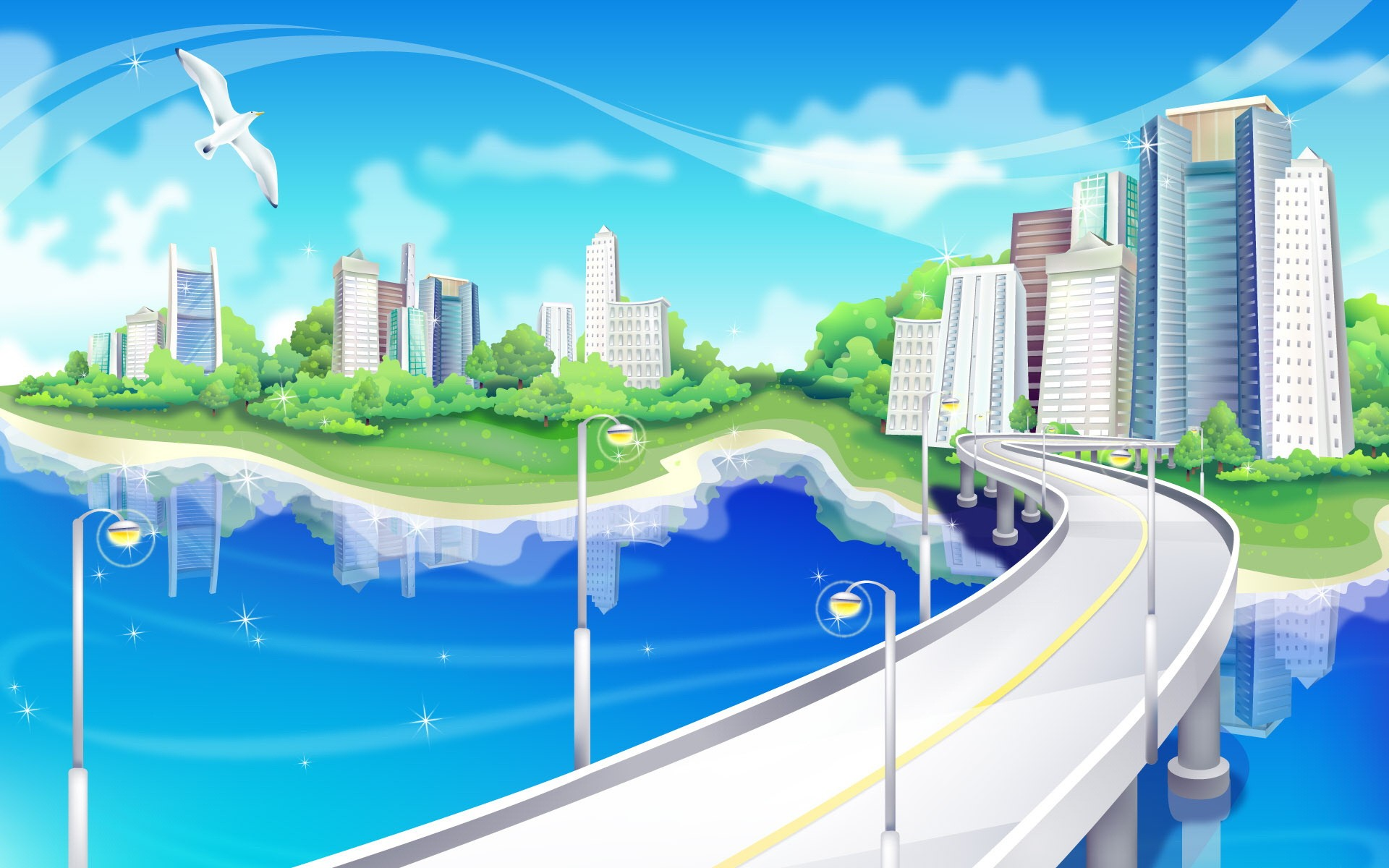 City Vector HD Wallpapers - Page 13812 - Movie HD Wallpapers